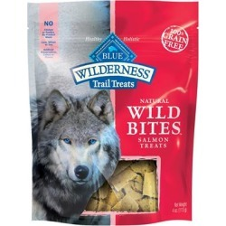 Blue Buffalo Wilderness Natural Wild Bites Salmon Treats 4 oz