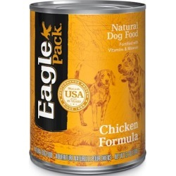 Eagle Pack Natural Dog Food - Canned Chicken Formula for Dogs 13.2 oz cans - case of 12