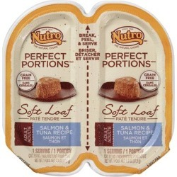 Nutro Perfect Portions Grain-Free Salmon & Tuna Recipe Cat Food Trays 2.6-oz, case of 24
