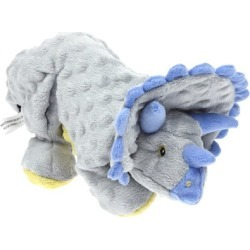 GoDog Frills Dinosaur Triceratops with Chew Guard Grey found on Bargain Bro India from PetCareRx for $20.93