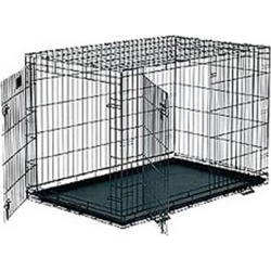 Lifestages Double Door Crate with Divider 30'