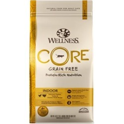 Wellness CORE Grain Free Natural Indoor Health Chicken and Turkey Recipe Dry Cat Food 5-lb