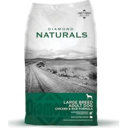 Diamond Naturals Large Breed 60+ Dog Food 40 Lb bag