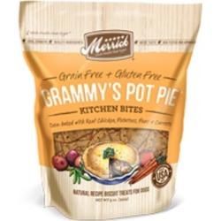 Merrick Grammy's Chicken Pot Pie Kitchen Bites Dog Treats 9-oz
