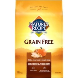 Nature's Recipe Grain Free Chicken, Sweet Potato and Pumpkin Recipe 24 lb bag