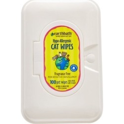 Earthbath Hypo-Allergenic Cat Wipes 100 wipes