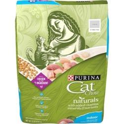 Purina Cat Chow Naturals Indoor Plus Vitamins & Minerals Dry Cat Food 13 lbs
