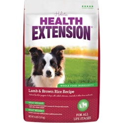 Health Extension Lamb and Brown Rice Dry Dog Food 30-lb