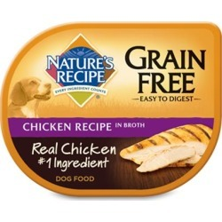 Nature's Recipe Grain Free Chicken Recipe Broth Wet Dog Food 2.75-oz, case of 12