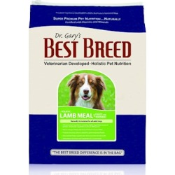 Dr. Gary's Best Breed Holistic Lamb Meal with Fruits & Vegetables Dry Dog Food 30-lb