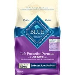Blue Buffalo Life Protection Formula Adult Toy Breed Chicken and Brown Rice Dry Dog Food 4-lb