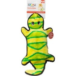 Outward Hound Invincibles 4 Squeak Gecko Yellow/Green found on Bargain Bro India from PetCareRx for $14.93