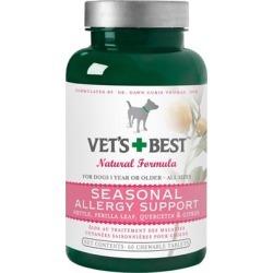 Vet's Best Seasonal Allergy Support 60 Tabs