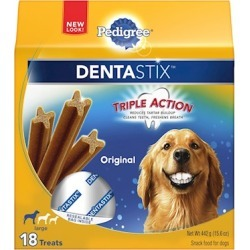 Pedigree Dentastix Dog Treat for Large Dogs 18 Count