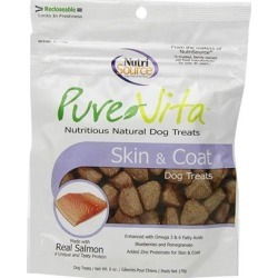 PureVita Skin And Coat Dog Treats 6-oz