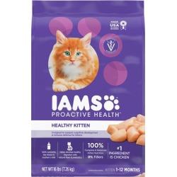 Iams ProActive Health Kitten Chicken Recipe Dry Cat Food 16-lb