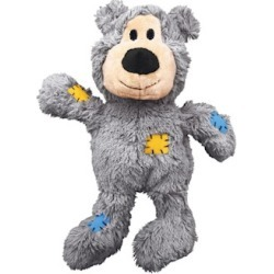 KONG Wild Knots Squeaker Bears Dog Toy Small/Medium (Assorted) found on Bargain Bro India from PetCareRx for $9.29