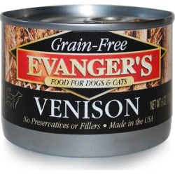 Evanger's Grain-Free Dog/Cat Canned Food Beef - 6 oz cans / case of 24