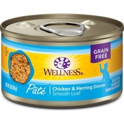Wellness Canned Cat Food Chicken & Herring Recipe 12.5oz cans - case of 12