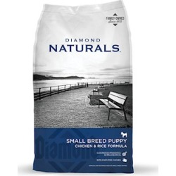 Diamond Naturals Small Breed Puppy Formula Dog Food 40 Lb bag