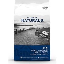 Diamond Naturals Small Breed Puppy Formula Dog Food 40 Lb bag