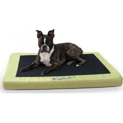 K & H Pet Products Comfy n' Dry Green Indoor-Outdoor Pet Bed Medium: 28' x 36' x 2.5'