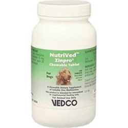 NutriVed Zinpro for Dogs 100 CHEWABLE Tablets