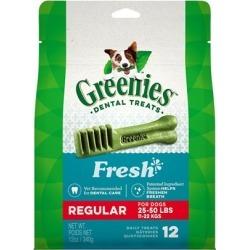 GREENIES Freshmint Treat-Pak TEENIE 43 Treats (12 oz)
