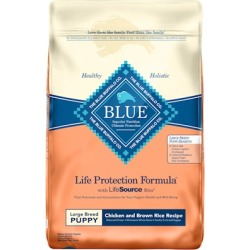 Blue Buffalo Life Protection Large Breed Puppy Chicken and Brown Rice Recipe Dry Dog Food 15-lb