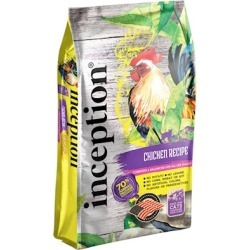 Inception Chicken Recipe Dry Cat Food 4-lb