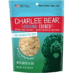 Charlee Bear Dog Treats with Cheese & Egg 16 oz