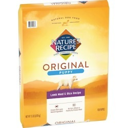Nature's Recipe Puppy Lamb Meal & Rice Recipe 15 lb bag
