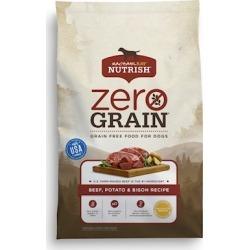 Rachael Ray Nutrish Zero Grain Natural Beef, Bison, & Potato Dry Dog Food 11-lb
