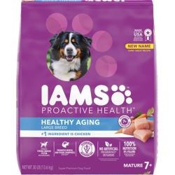 Iams ProActive Health Mature Adult Large Breed Dry Dog Food 30-lb