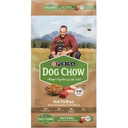 Purina Dog Chow Natural Chicken Plus Vitamins and Minerals Dry Dog Food 32-lb