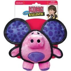 KONG Ballistic Ears Pig Dog Toy Medium