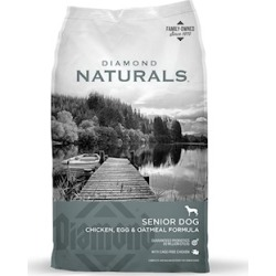 Diamond Naturals Senior 8+ Dry Dog Food 35 Lb bag