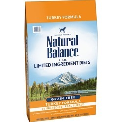 Natural Balance Limited Ingredient Diets High Protein Turkey Dry Dog Food 24-lb