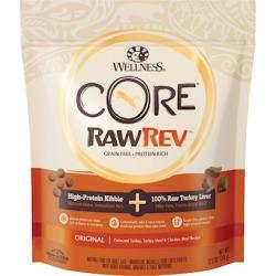 Wellness CORE RawRev Original Deboned Turkey, Turkey Meal, & Chicken Meal Dry Cat Food 12-oz