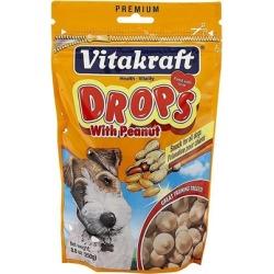 Vitakraft Drops Dog Treats Peanut