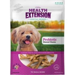 Health Extension Dental Bones Probiotic Dog Treat 6-oz