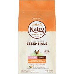 Nutro Wholesome Essentials Toy Breed Chicken, Brown Rice & Sweet Potato Adult Dry Dog Food 5-lb