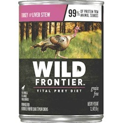 Nutro Wild Frontier Grain Free Large Bird Recipe Canned Dog Food 12.5-oz, case of 12
