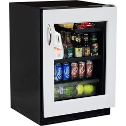 Marvel 24-Inch Right Hinge High-Efficiency Panel-Ready Beverage Refrigerator With Drawer - ML24BRF3RP