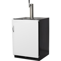 Marvel 24-Inch Panel Ready, Single Tap Built-In Beer Dispenser With Integrated Right Hinge - ML24BSP3RP