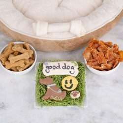 Good Dog. Good Treats. by GiftBasket.com