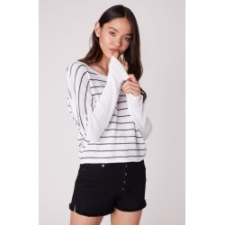 Lucky Day Striped Dolman Top