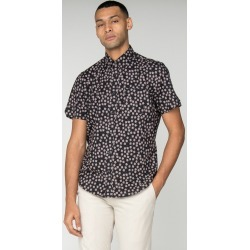 Ben Sherman Short Sleeve Scattered Scratch Geo Shirt - Men's found on MODAPINS from The Last Hunt for USD $36.32