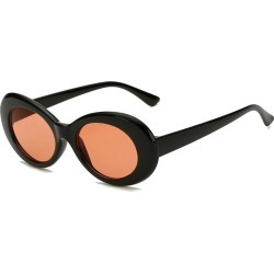Costbuys  New Oval Sunglasses Women Men Designer Summer Retro Sunglass Female Oculos de sol UV400 Round Sun glasses - C5