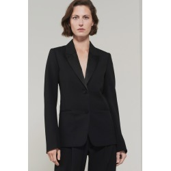 Fitted Tux Jacket in Black - 8 found on Bargain Bro UK from Victoria Beckham (UK)